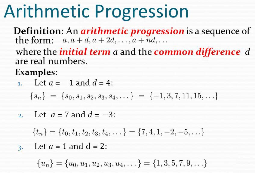 Arithmetic Progression Archives - A Plus Topper