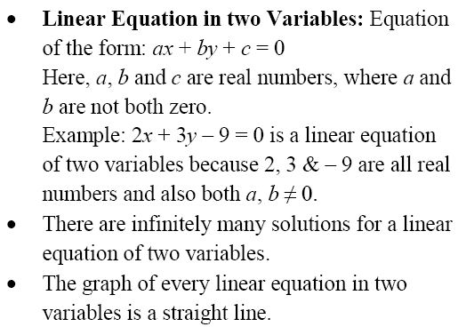 Pair Of Linear Equations In Two Variables - A Plus Topper