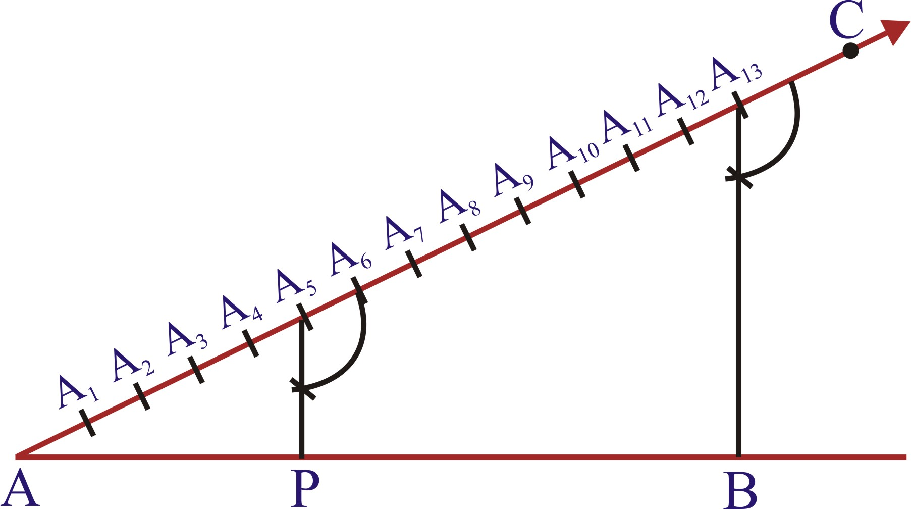 Drawing Lines In Cm Worksheet : Division of a line segment into given ratio plus topper