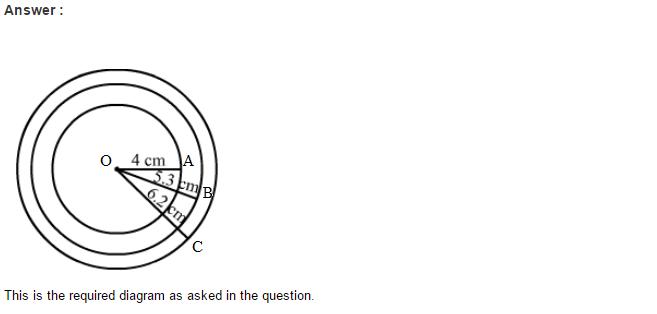Circles RS Aggarwal Class 6 Maths Solutions 1.1