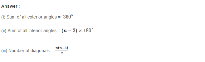 Construction of Quadrilaterals RS Aggarwal Class 8 Maths Solutions CCE Test Paper 14.1