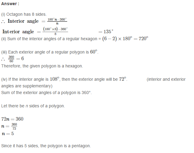 Construction of Quadrilaterals RS Aggarwal Class 8 Maths Solutions CCE Test Paper 16.1