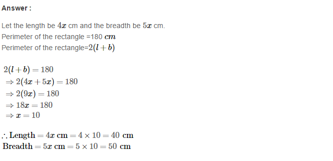 Construction of Quadrilaterals RS Aggarwal Class 8 Maths Solutions CCE Test Paper 4.1