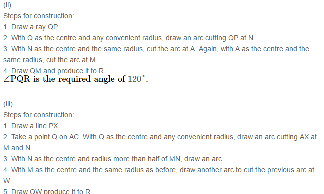 Constructions RS Aggarwal Class 6 Maths Solutions Exercise 14B 1.2