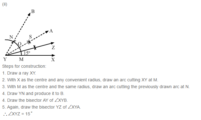 Constructions RS Aggarwal Class 6 Maths Solutions Exercise 14B 4.2