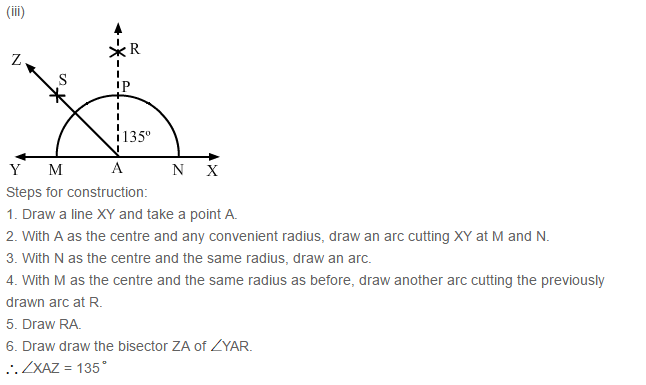 Constructions RS Aggarwal Class 6 Maths Solutions Exercise 14B 4.3