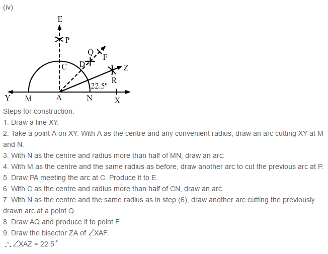 Constructions RS Aggarwal Class 6 Maths Solutions Exercise 14B 4.4