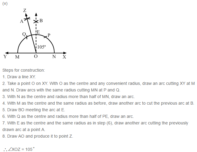 Constructions RS Aggarwal Class 6 Maths Solutions Exercise 14B 4.5