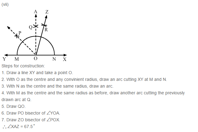 Constructions RS Aggarwal Class 6 Maths Solutions Exercise 14B 4.7