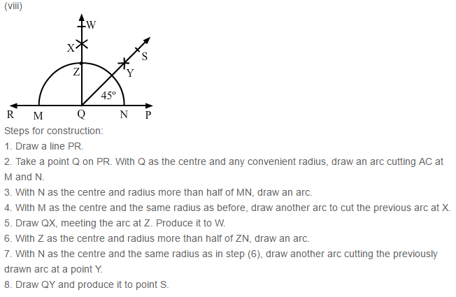 Constructions RS Aggarwal Class 6 Maths Solutions Exercise 14B 4.8