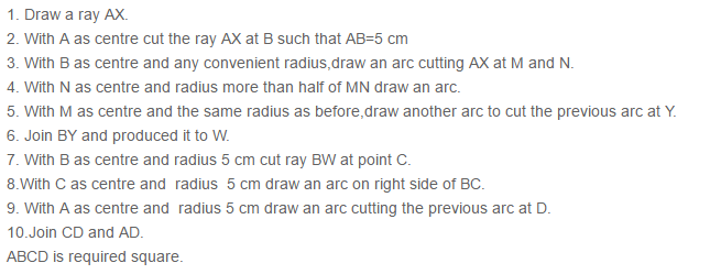 Constructions RS Aggarwal Class 6 Maths Solutions Exercise 14B 6.2