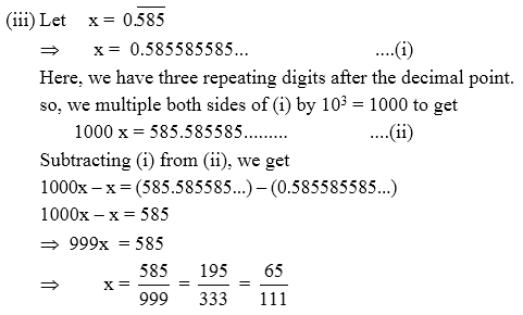 How To Convert Decimal Number Into Rational Number A Plus Topper