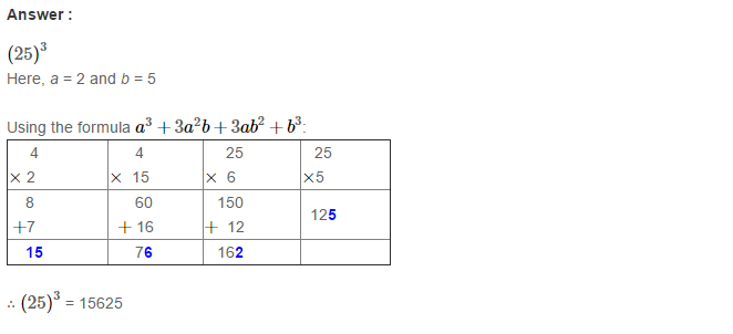 Cubes and Cube Roots RS Aggarwal Class 8 Maths Solutions Ex 4B 1.1