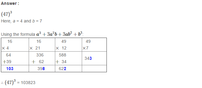 Cubes and Cube Roots RS Aggarwal Class 8 Maths Solutions Ex 4B 2.1