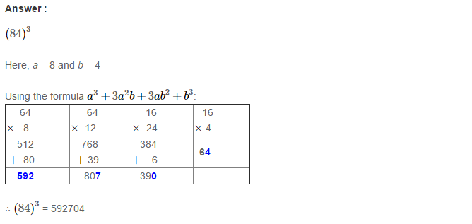 Cubes and Cube Roots RS Aggarwal Class 8 Maths Solutions Ex 4B 4.1