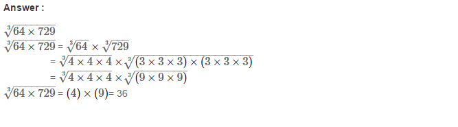 Cubes and Cube Roots RS Aggarwal Class 8 Maths Solutions Ex 4C 16.1