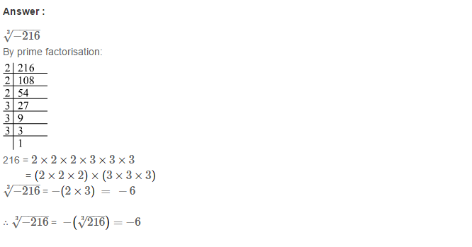 Cubes and Cube Roots RS Aggarwal Class 8 Maths Solutions Ex 4C 9.1