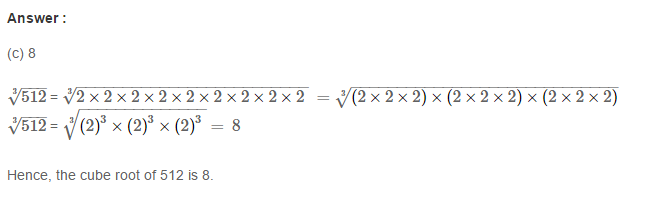 Cubes and Cube Roots RS Aggarwal Class 8 Maths Solutions Ex 4D 3.1