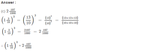Cubes and Cube Roots RS Aggarwal Class 8 Maths Solutions Ex 4D 9.1