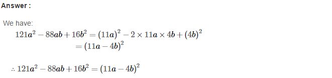 Factorisation RS Aggarwal Class 8 Maths Solutions Ex 7C 12.1