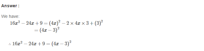 Factorisation RS Aggarwal Class 8 Maths Solutions Ex 7C 15.1