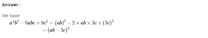 Factorisation RS Aggarwal Class 8 Maths Solutions Ex 7C 17.1