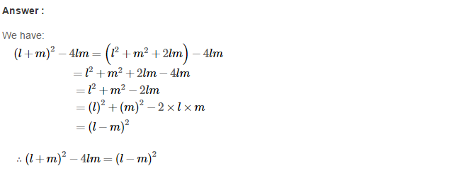 Factorisation RS Aggarwal Class 8 Maths Solutions Ex 7C 19.1