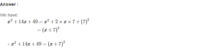 Factorisation RS Aggarwal Class 8 Maths Solutions Ex 7C 2.1