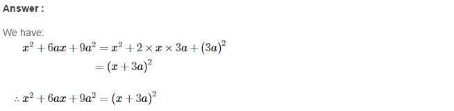 Factorisation RS Aggarwal Class 8 Maths Solutions Ex 7C 5.1