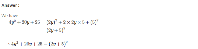 Factorisation RS Aggarwal Class 8 Maths Solutions Ex 7C 6.1