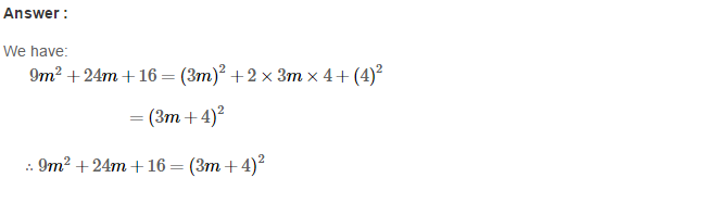 Factorisation RS Aggarwal Class 8 Maths Solutions Ex 7C 8.1