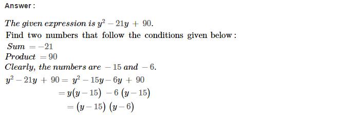 Factorisation RS Aggarwal Class 8 Maths Solutions Ex 7D 13.1