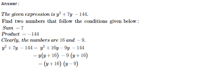 Factorisation RS Aggarwal Class 8 Maths Solutions Ex 7D 18.1