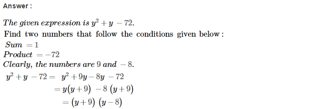 Factorisation RS Aggarwal Class 8 Maths Solutions Ex 7D 20.1