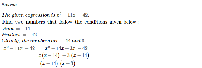 Factorisation RS Aggarwal Class 8 Maths Solutions Ex 7D 24.1