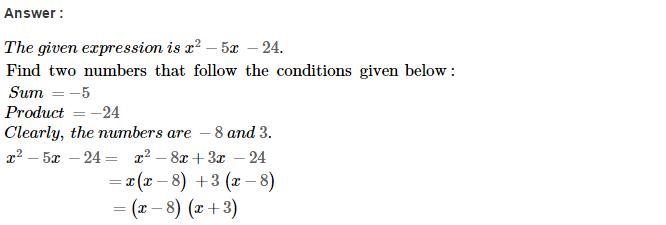 Factorisation RS Aggarwal Class 8 Maths Solutions Ex 7D 25.1