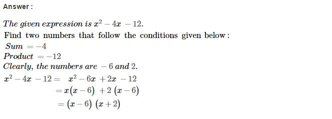 Factorisation RS Aggarwal Class 8 Maths Solutions Ex 7D 28.1