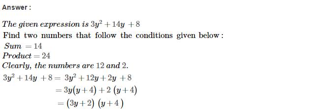 Factorisation RS Aggarwal Class 8 Maths Solutions Ex 7D 30.1