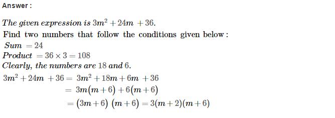 Factorisation RS Aggarwal Class 8 Maths Solutions Ex 7D 39.1