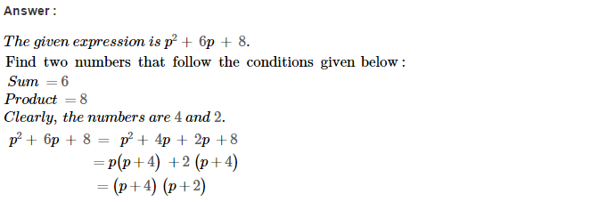 Factorisation RS Aggarwal Class 8 Maths Solutions Ex 7D 4.1
