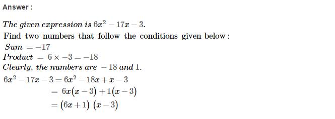 Factorisation RS Aggarwal Class 8 Maths Solutions Ex 7D 41.1