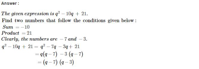 Factorisation RS Aggarwal Class 8 Maths Solutions Ex 7D 8.1