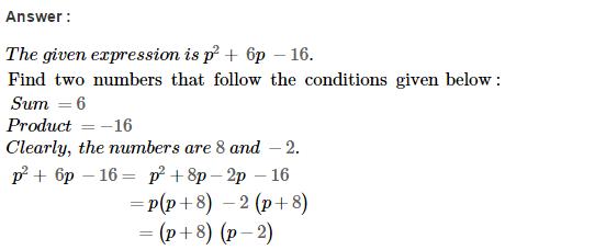 Factorisation RS Aggarwal Class 8 Maths Solutions Ex 7D 9.1