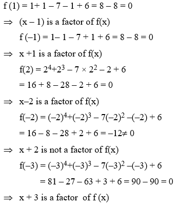Factorization Of Polynomials Using Factor Theorem 1