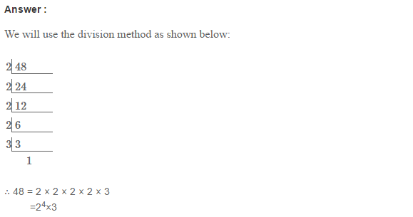 Factors and Multiples RS Aggarwal Class 6 Maths Solutions Ex 2C 3