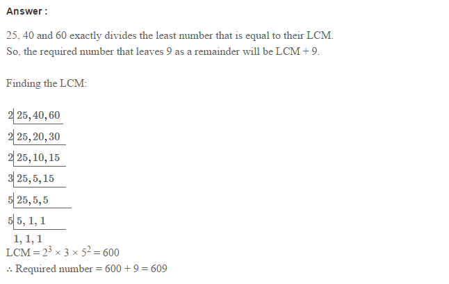Factors and Multiples RS Aggarwal Class 6 Maths Solutions Ex 2E 24