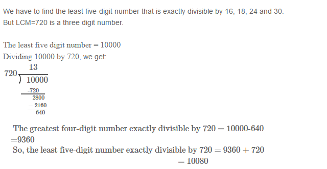 Factors and Multiples RS Aggarwal Class 6 Maths Solutions Ex 2E 26