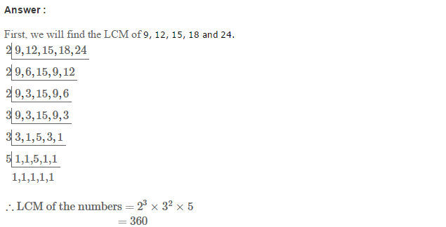 Factors and Multiples RS Aggarwal Class 6 Maths Solutions Ex 2E 27