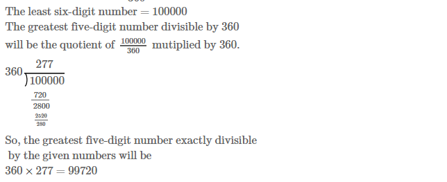 Factors and Multiples RS Aggarwal Class 6 Maths Solutions Ex 2E 28