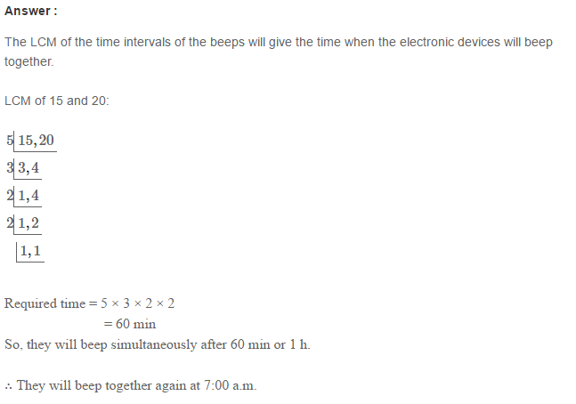 Factors and Multiples RS Aggarwal Class 6 Maths Solutions Ex 2E 33